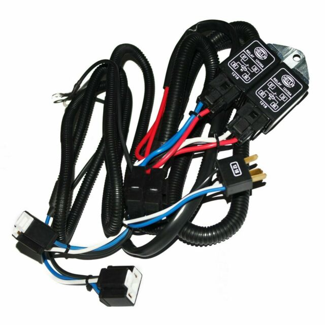 HELLA Universal H4 Headlamp Wiring Harness With Relay System 130/100w ECS  for sale online   eBayeBay
