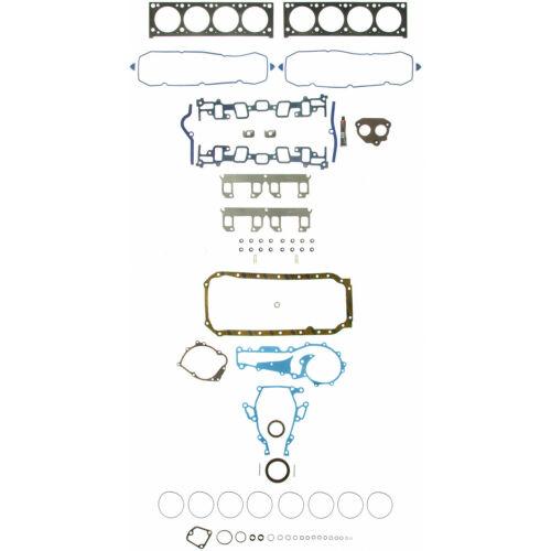 Engine Gasket Set fits 1988-1989 Cadillac Commercial Chassis,DeVille,Eldorado,Fl