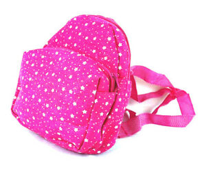 Small-Mini-Childrens-Rucksack-Backpack-Nursery-Bag-Adjustable-Straps-Pink