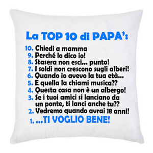 Federa Per Cuscino La Top 10 Di Papà Frasi Tipiche Divertenti