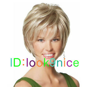 Fashion-wig-New-sexy-ladies-short-Blonde-Natural-Hair-wigs-Free-Wig-cap