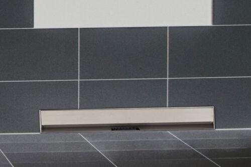 Système d´évacuation mural pour douche ZITAHLI acier inoxydable 7 longueurs neuf