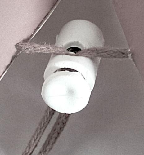 Glitzer 60 cm ❀ Leuchtstern Weiß mit Silber Faltstern Papierstern Wega