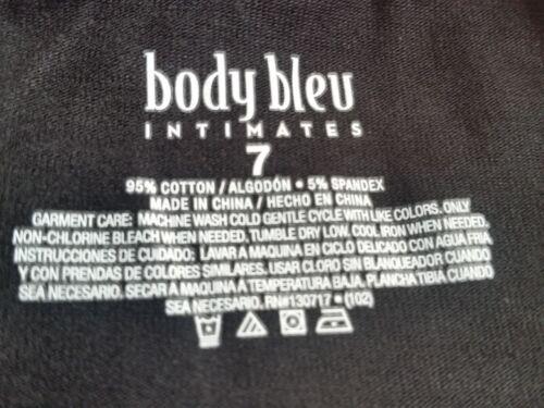7 Body Bleu Women/'s Stretch fit underwear panties 95/% cotton plus size L-XXXL