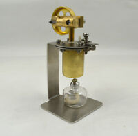 Mini Hot Live Steam Engine Model Education Toy Diy Model Qj-05 C Us