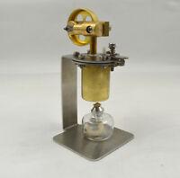 Mini Hot Live Steam Engine Model Education Toy Diy Model Qj-05 Us
