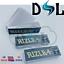 miniatuur 7 - Genuine RIZLA SILVER Rolling Paper Card Roach Cigarette Filter Tips Booklets