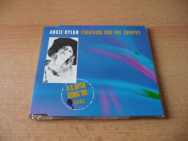 Maxi CD Angie Dylan - Fighting for the trophy - 1989