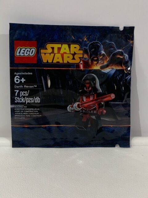 LEGO 5002123 Star Wars Darth Revan Minifigure New in Sealed Polybag