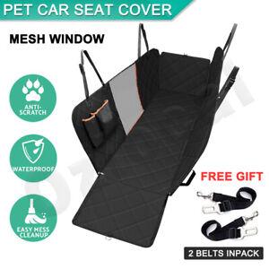 Premium-Pet-Car-Seat-Cover-Hammock-NonSlip-Protector-Mat-Waterproof-Cat-Dog-Back