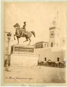 Algerie-Palais-du-Gouvernement-Vintage-albumen-print-Tirage-albumine-20