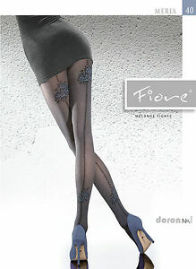 Fiore-Meria-Strumpfhose-034-hold-up-Imitation-034-40-DEN-Gr-S-L-36-46