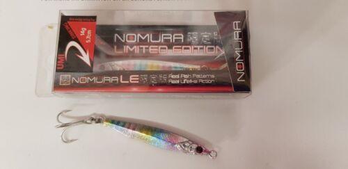 Maquereau Nomura Umi 14 G et 21 g Casting Jigs.. Pollack Bass bonite