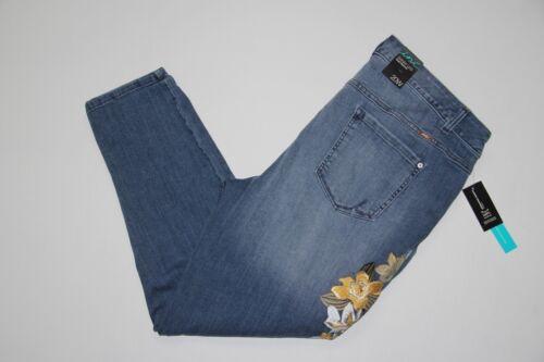 Size Leg New Inc fit Women's denim Indigo Slim jeans Skinny Plus 20w wtTTnqr