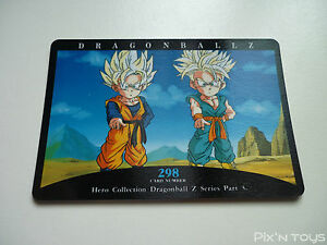 DRAGON BALL Z DBZ HERO COLLECTION PART 3 CARD REG CARTE 298 JAPAN MINT NEUF