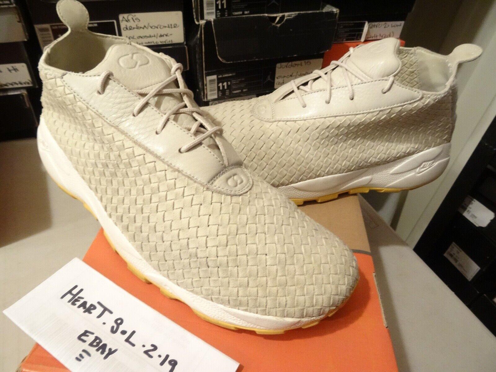 Nike Air Footscape Woven Chukka Fragment 315097 223 SZ 13 SB 360 max 90 infrared