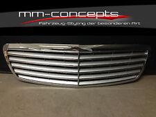 Kühlergrill Grill für Mercedes W211 E Klasse Frontgrill AMG 55 Avantgard Chrom