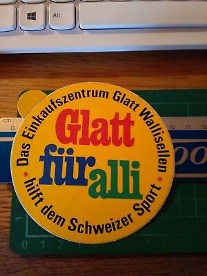 100% Vero Adesivo Vintage Sticker Kleber Glatt Fur Alli