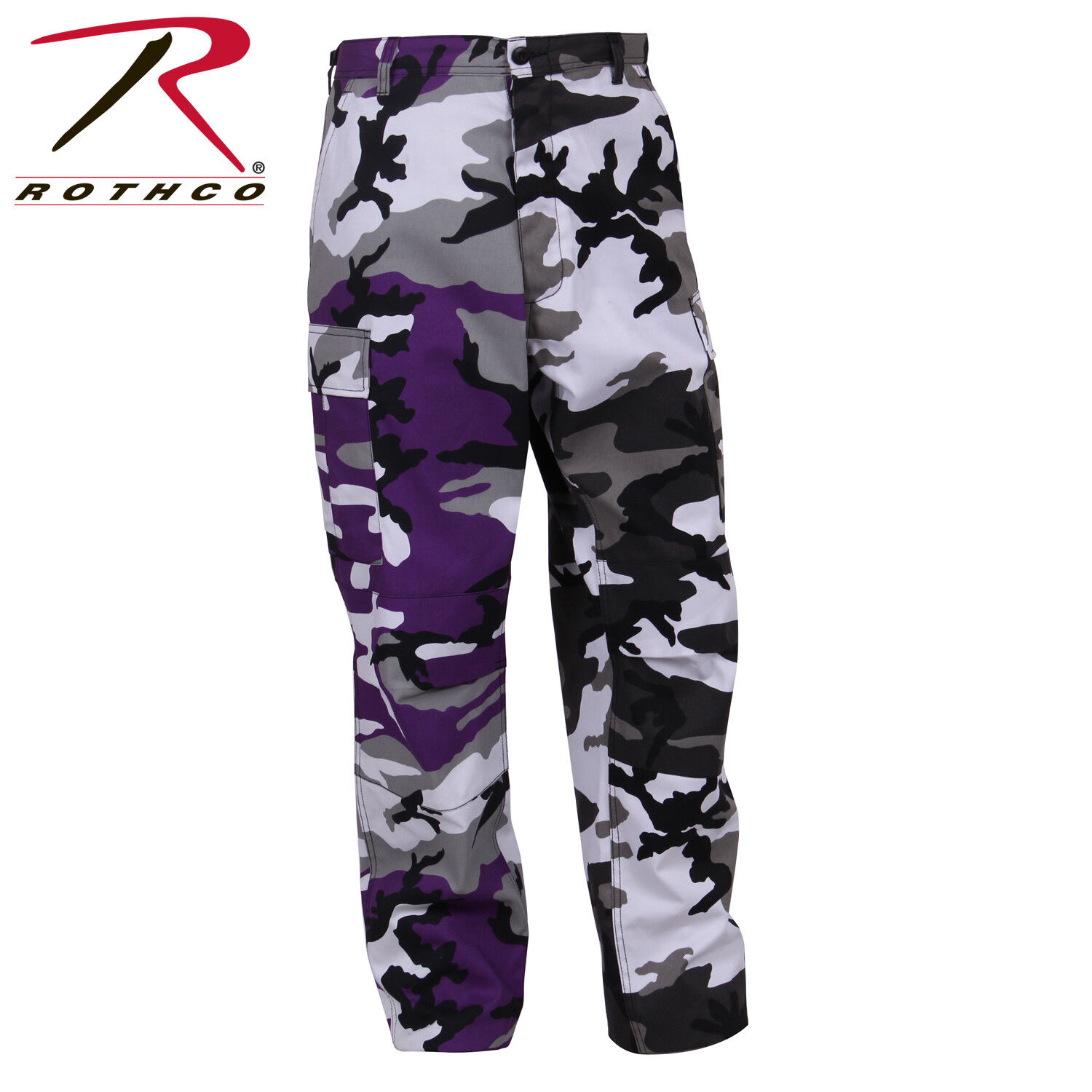 redhco Tactical BDU Pants Two-Tone Camo Ultra  purple City Camo  fast delivery