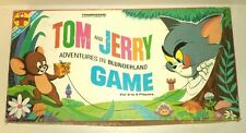 vtg 1965 TOM and JERRY ADVENTURES IN BLUNDERLAND Game TRANSOGRAM 100% COMPLETE