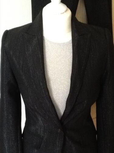 completo perfetto successivo look da ballo taglia argento Nuovo 8 10 abito e nero e TOtpwFq
