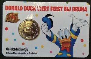 Scrooge-McDuck-039-s-Number-One-Dime-from-2017-issued-by-Donald-Duck-magazine