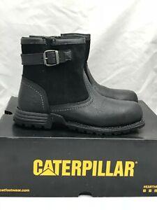64b56809e3e Caterpillar Jace Steel Toe Work Boots Womens 8.5 US 39.5 EUR Black ...