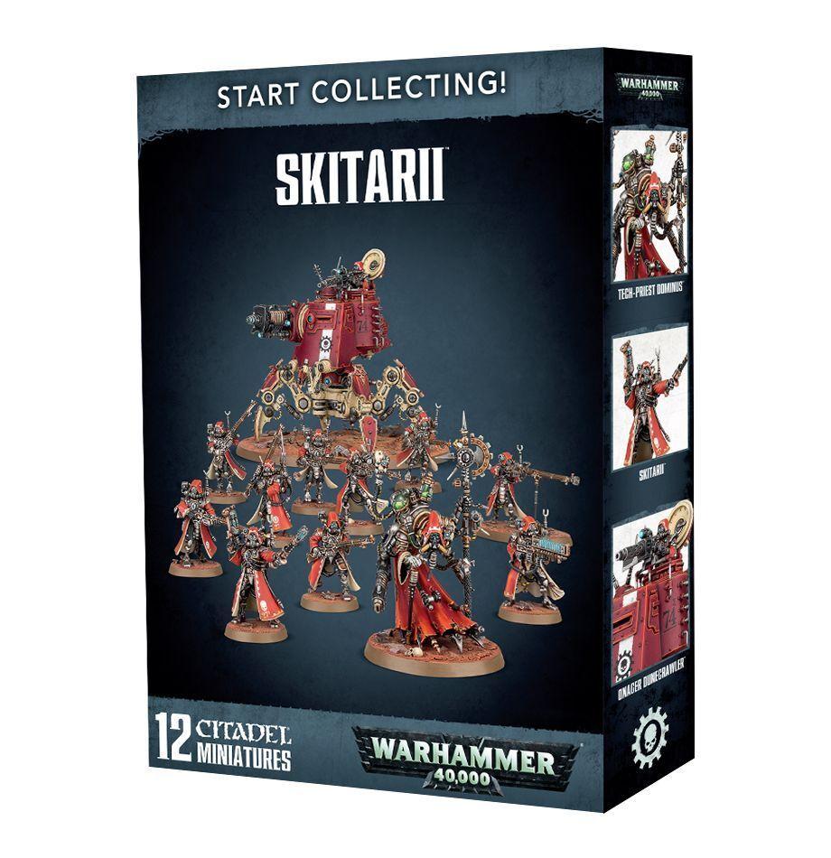 Warhammer 40K Start Collecting Skitarii plastic box new