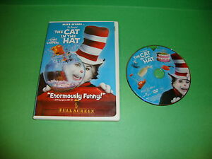 bf725d9f Dr. Seuss' The Cat in the Hat (DVD, 2004, Full Frame Edition)   eBay