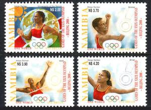 Namibia 1161-1164, MNH. Summer Olympics, Beijing, 2008