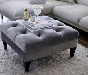 Chesterfield Ottoman Coffee Table 1