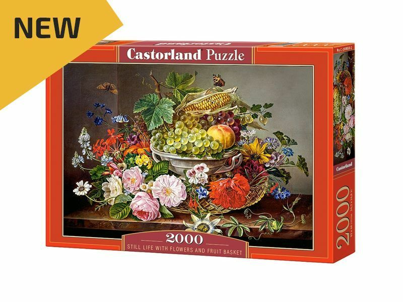Castorland Puzzle 2000Pieces Still Life with Flowers 36