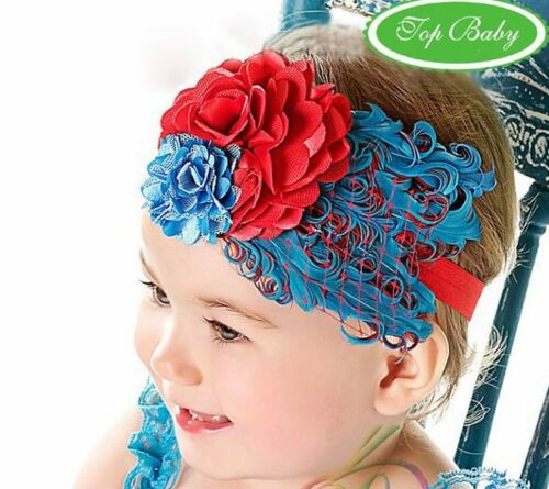 6 years* BABY GIRL Real FEATHER Headband photo prop *1 size fits 6m