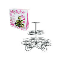 Lot Of 2 Cupcake Holder Stands - Collapsible Party Stand Holds 13 Cupcakes