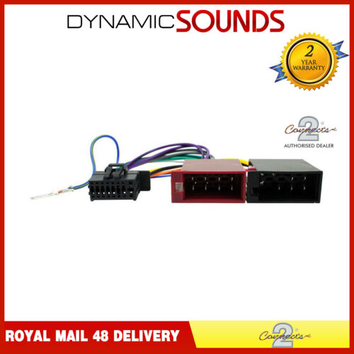 CT21KW07 CD Player Car Stereo Wiring Loom Lead for Kenwood All Models 2017