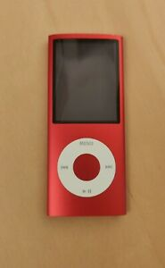 Apple-iPod-Nano-4G-4-Generation-PRODUCT-RED-Rot