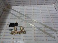 Saginaw Sce-ark36, Aluminum Door Rod Kit, With Rollers