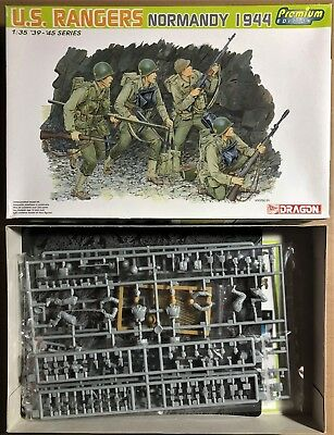 Dragon 6306 - U.s. Rangers Normandy 1944 - 1/35 Plastic Kit