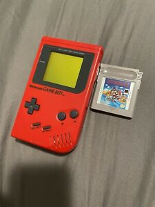 RARE Play It Loud Nintendo Game Boy w/Super Mario Land TESTED- WORKS PERFECTLY!