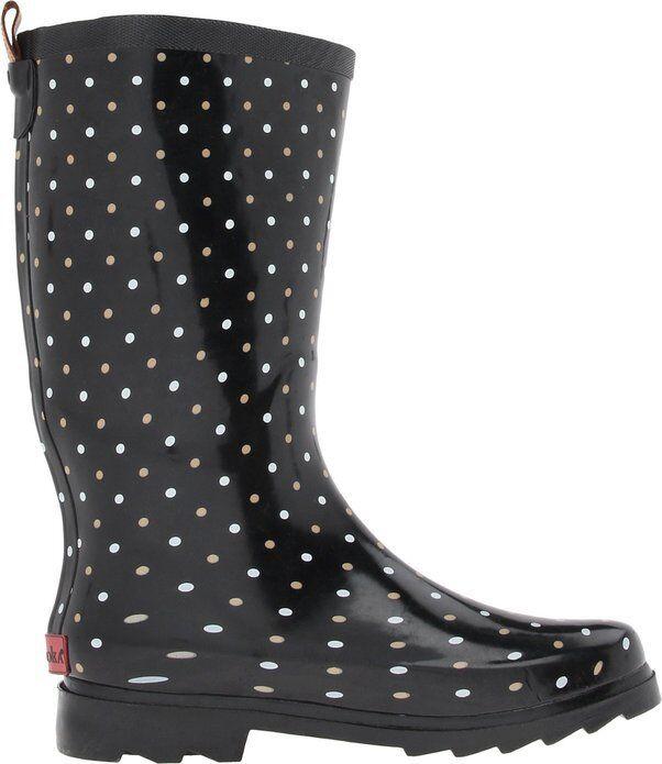 Chooka para mujeres Para lluvia botas Clásico dottrd Para Para Para lluvia botas 9M 76301b