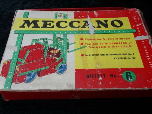 Assorted Meccano, C. 1950s. Possibly incomplete kit and many other parts