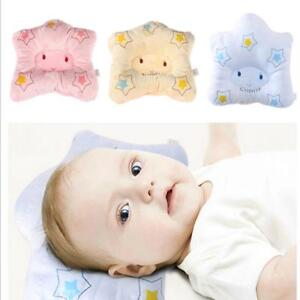 Newborn-Baby-Infant-Sleep-Pillow-Positioner-Head-Anti-Roll-Prevent-Flat-Star