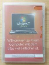 Microsoft Windows 7 Ultimate 64 Bit System Builder Vollversion Deutsch GLC-00740