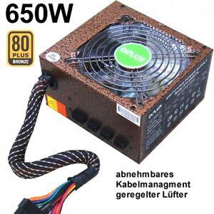 650 W PC Netzteil 80Plus 80 DELUX P650 mit Kabelmanagment CM LED Lüfter NEU - Münster, Deutschland - 650 W PC Netzteil 80Plus 80 DELUX P650 mit Kabelmanagment CM LED Lüfter NEU - Münster, Deutschland