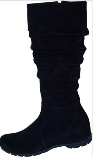 da camoscio Uk 7 Eu scamosciato Stivale Bt01 nero donna alto in 28 41 x5a1W0I8