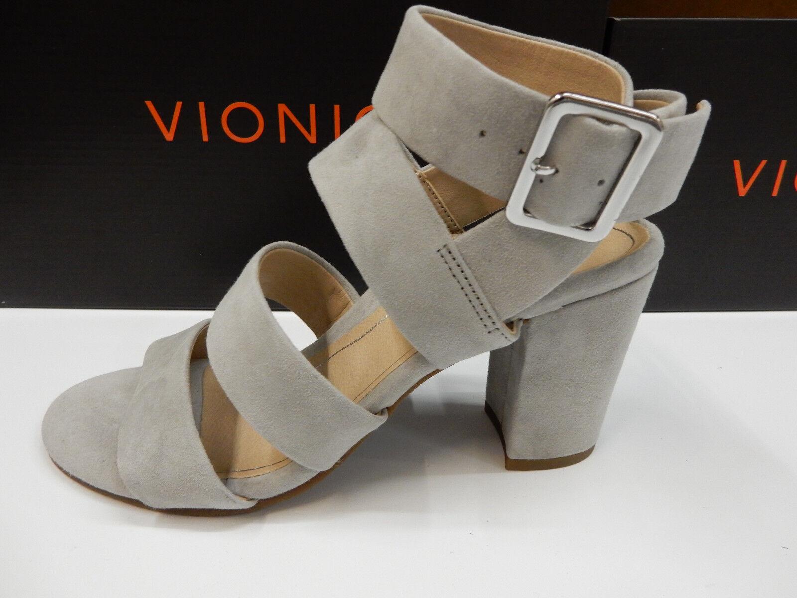 Vionic Womens Blaire Suede Light Grey Size Size Size 9 9b94a3