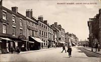 Ashby de la Zouch. Market Street by W. Shaw.