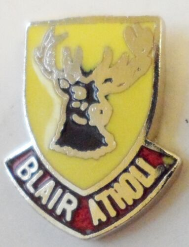 0451 Blair Atholl Perth /& Kinross Scotland Small Town Crest Pin Badge