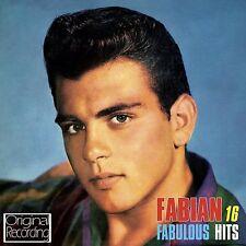 FABIAN ~ 16 FABULOUS HITS NEW CD TIGER HOUND DOG MAN 50's 60's Rock n Roll ~ Pop