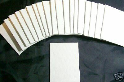 20 ACEO Blank 2.5x3.5 inches mini Canvas Panels Pro Artist Art Supply Plein Air